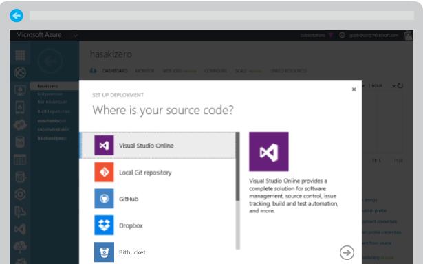 websites-microsoft-azure